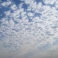 いっぱいの雲